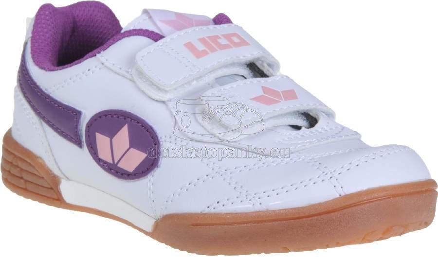 Detské tenisky LICO 360425 weiss/rosa