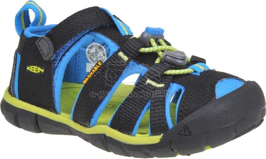 Gyerek szandál Keen SEACAMP II CNX black/brilliant blue