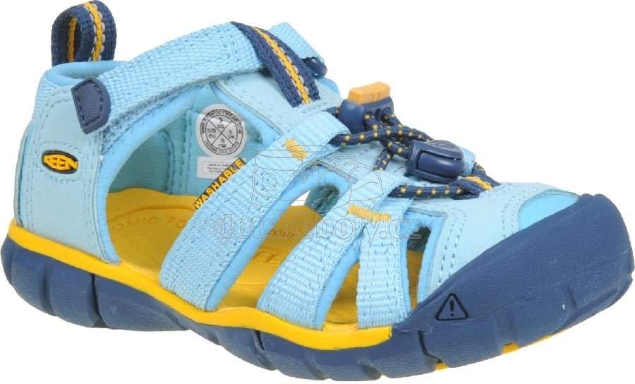 Dětské sandály Keen SEACAMP II CNX petit four/keen yellow
