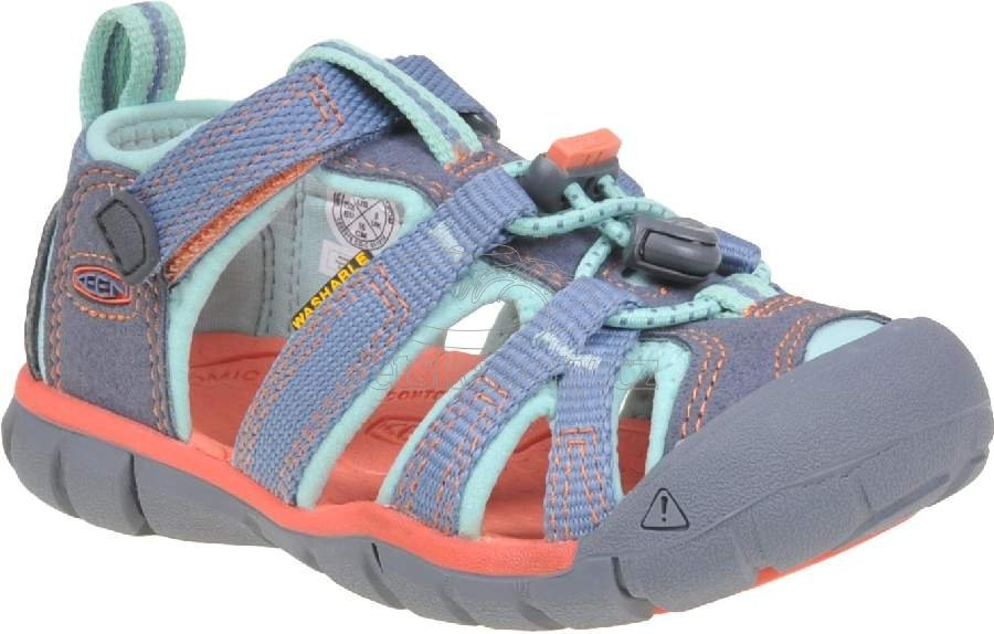 Dětské sandály Keen SEACAMP II CNX flint stone/ocean wave
