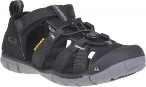 Nyári gyerekcipő Keen SEACAMP II CNX black/steel grey