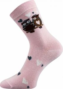 Detské ponožky Boma 057-21-43 sovy