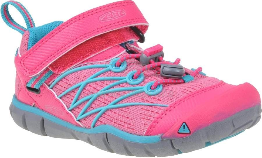 Gyerek tornacipő Keen CHANDLER CNX WP bright pink/lake green