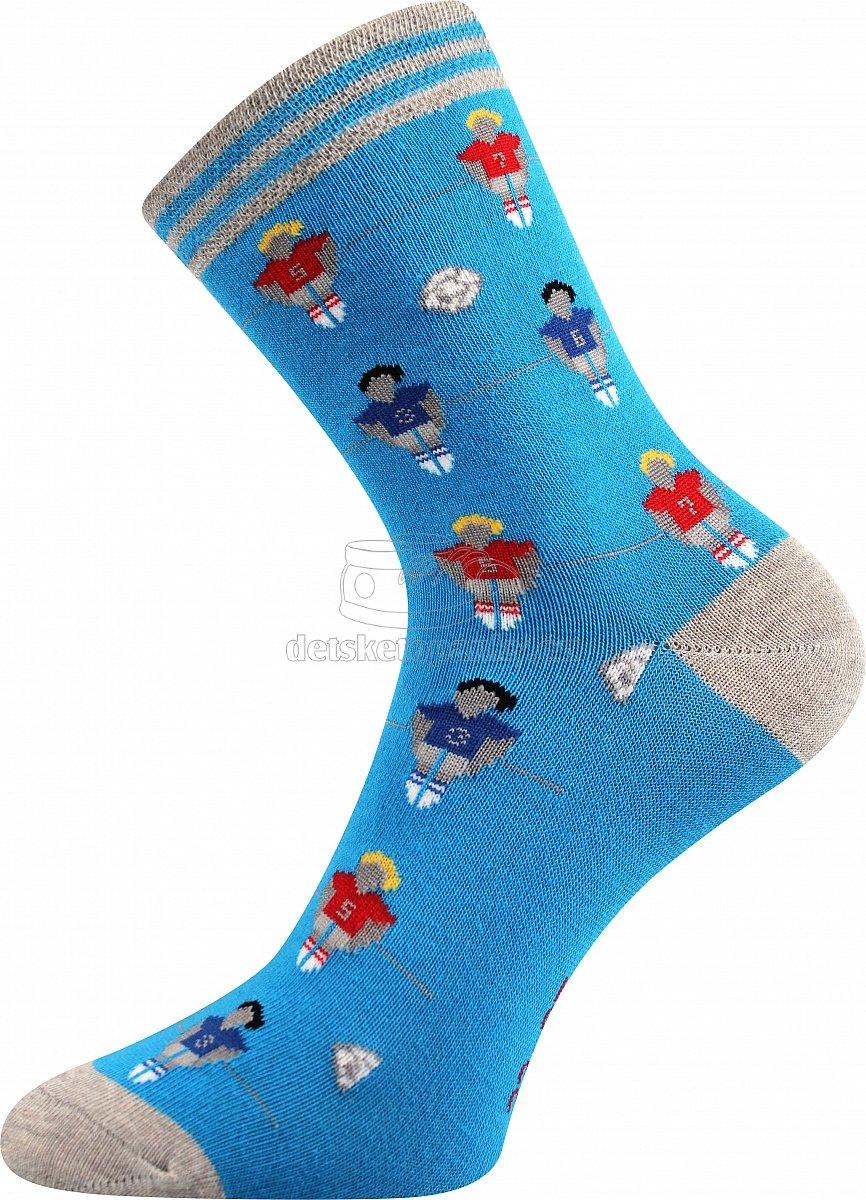 Detské ponožky Boma 057-21-43 futbal