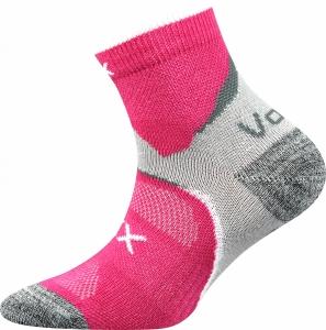 Detské ponožky VoXX Maxterik tmavo ružová
