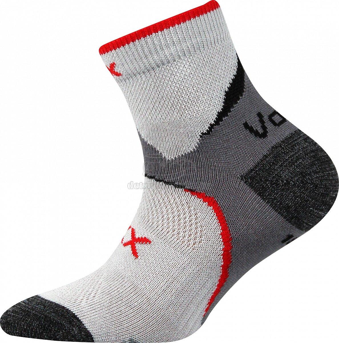 Detské ponožky VoXX Maxterik svetlo šedá