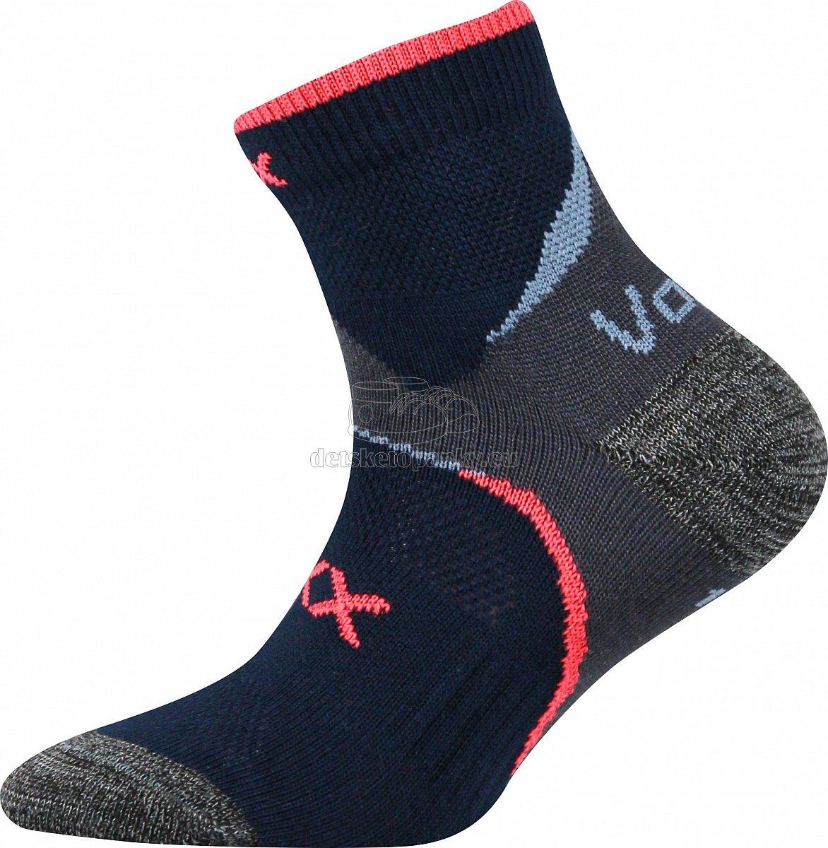 Detské ponožky VoXX Maxterik tmavo šedá