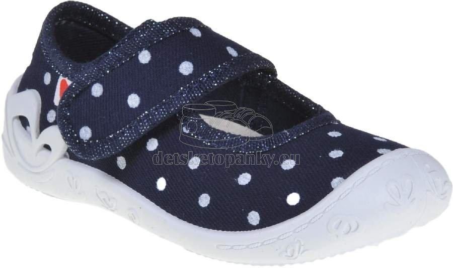 Detské topánky na doma Anatomic Flexible blueberry