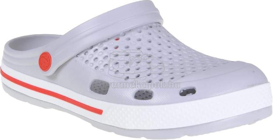 Gyerek strandcipő Coqui 6413 khaki grey/white
