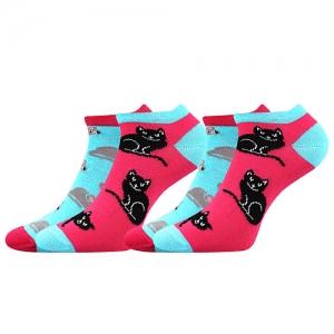 Detské ponožky Boma Duo 01 mačky
