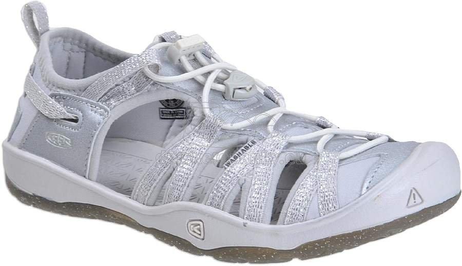 Detské sandále Keen MOXIE SANDAL silver