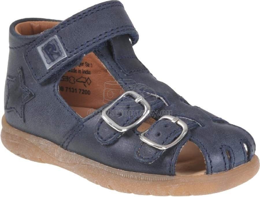 Detské letné topánky Richter 2608-7131-7200