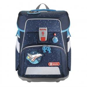 Školní aktovka SPACE pro prvňáčky - 5-dílný set, Step by Step Vesmírná loď, certifikát AGR