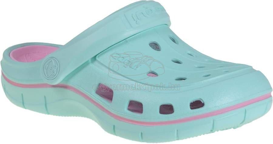 Gyerek strandcipő Coqui 6353 lt.mint/pink