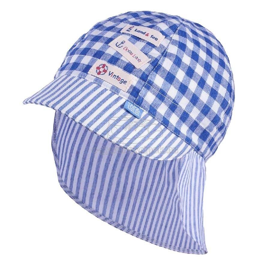 Gyerek siltes sapka TUTU 3-004559 blue/white