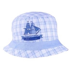 Detský klobúčik TUTU 3-004575 white/l.blue