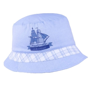 Detský klobúčik TUTU 3-004575 l.blue/white