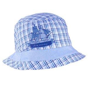 Detský klobúčik TUTU 3-004575 navy blue/l.blue