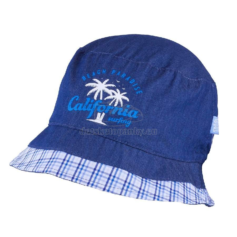 Detský klobúčik TUTU 3-004592 n.blue/n.blue