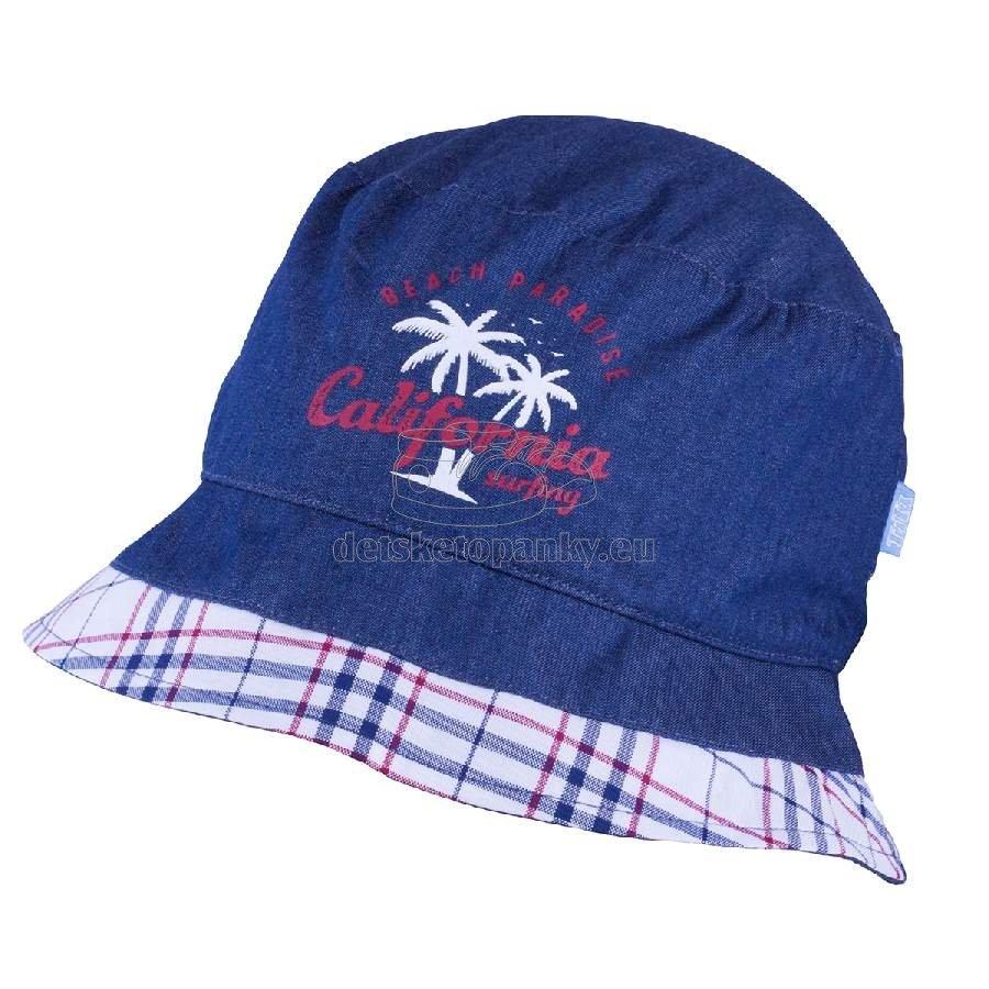 Detský klobúčik TUTU 3-004592 n.blue/red