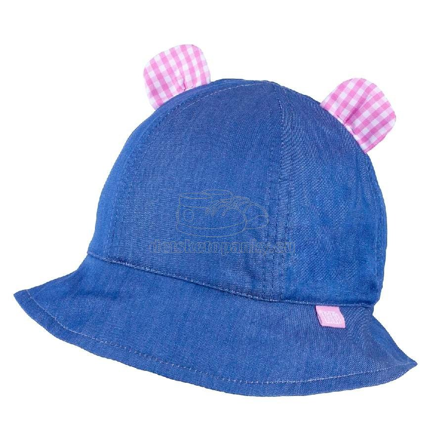 Detský klobúčik TUTU 3-004593 l.blue/pink