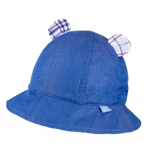 Detský klobúčik TUTU 3-004593 l.blue/red