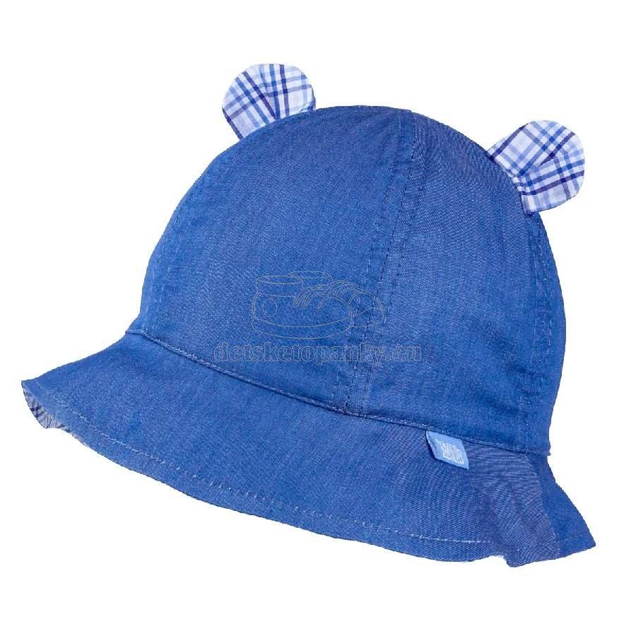 Detský klobúčik TUTU 3-004593 l.blue/blue