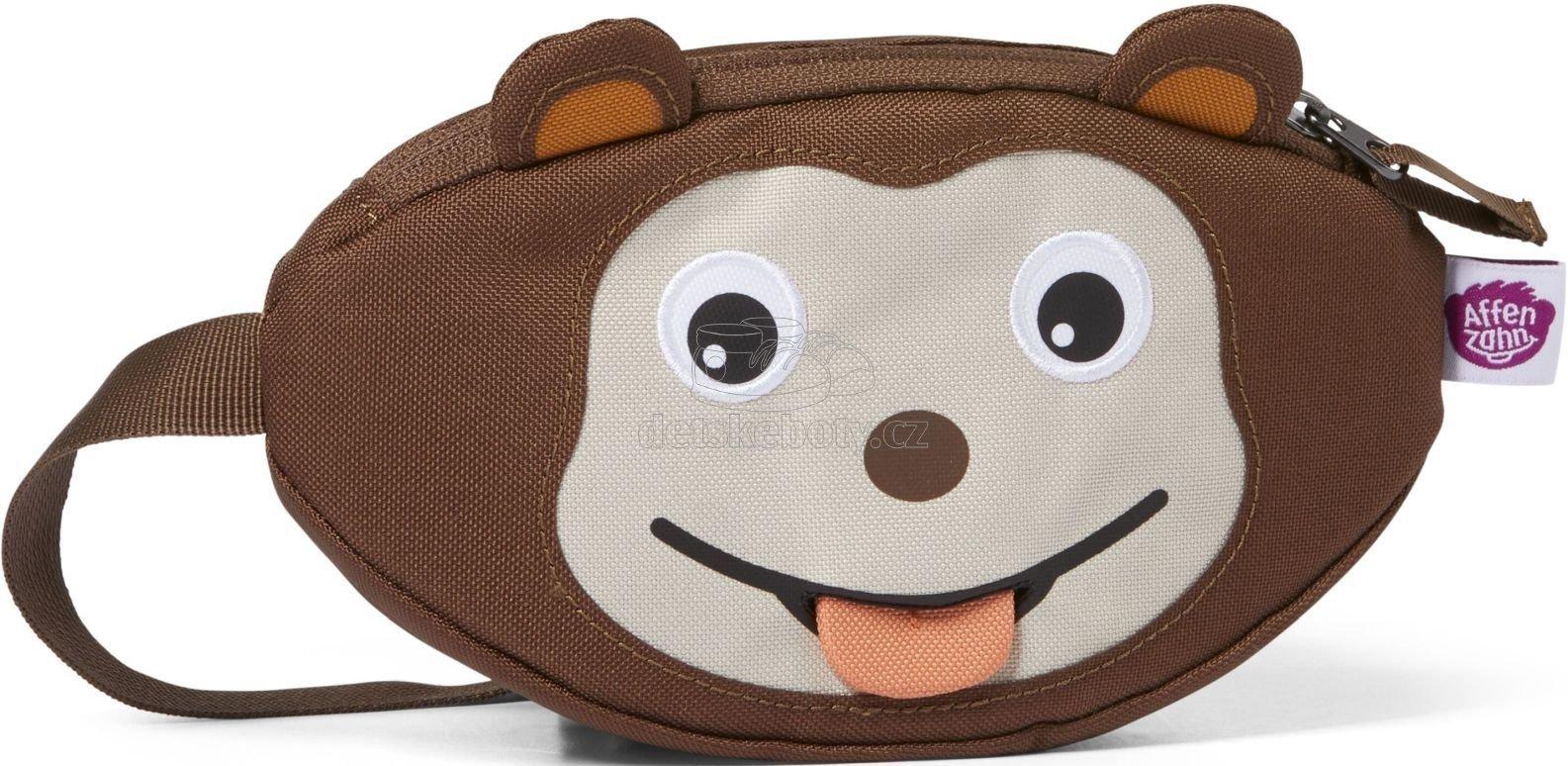 Dětská ledvinka Affenzahn Hipbag Monkey - brown