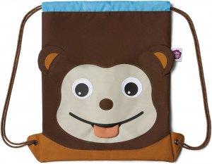 Dětský batůžek Affenzahn Kids Sportsbag Monkey - brown