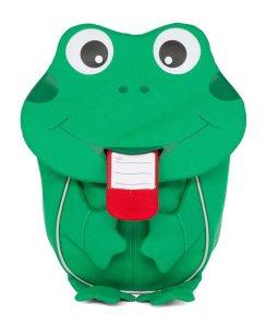 Batôžtek pre najmenších Affenzahn Finn Frog small - green