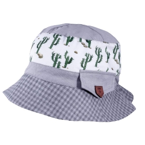 Detský klobúčik TUTU 3-004553 white/grey