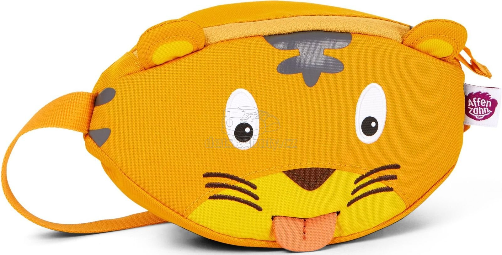 Gyerek övtáska Affenzahn Hip-Bag - Timmy Tiger - yellow