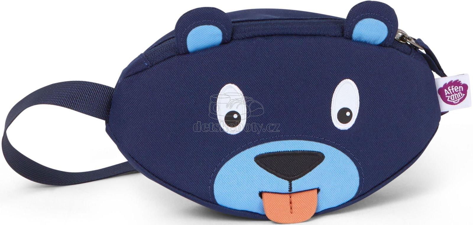 Dětská ledvinka Affenzahn Hip-Bag - Bobo Bear - petrol