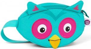 Dětská ledvinka Affenzahn Hip-Bag - Olivia Owl - turquoise