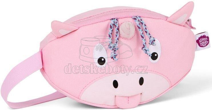 Dětská ledvinka Affenzahn Hip-Bag - Ulla Unicorn - pink