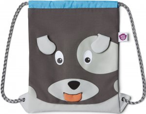 Dětský batůžek Affenzahn Kids Sportsbag Dog - grey