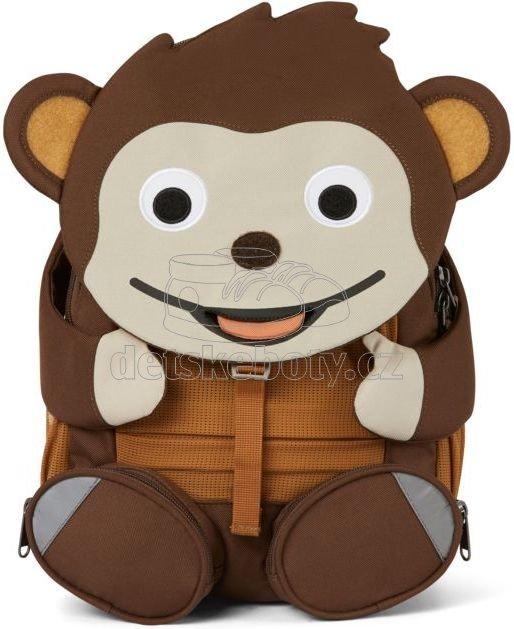 Dětský batoh do školky Affenzahn Large Friend Monkey - brown