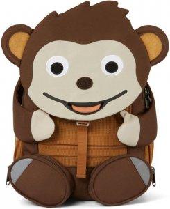 Gyerek táska iskolába Affenzahn Large Friend Monkey - brown