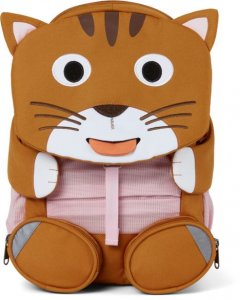 Dětský batoh do školky Affenzahn Large Friend Cat - brown