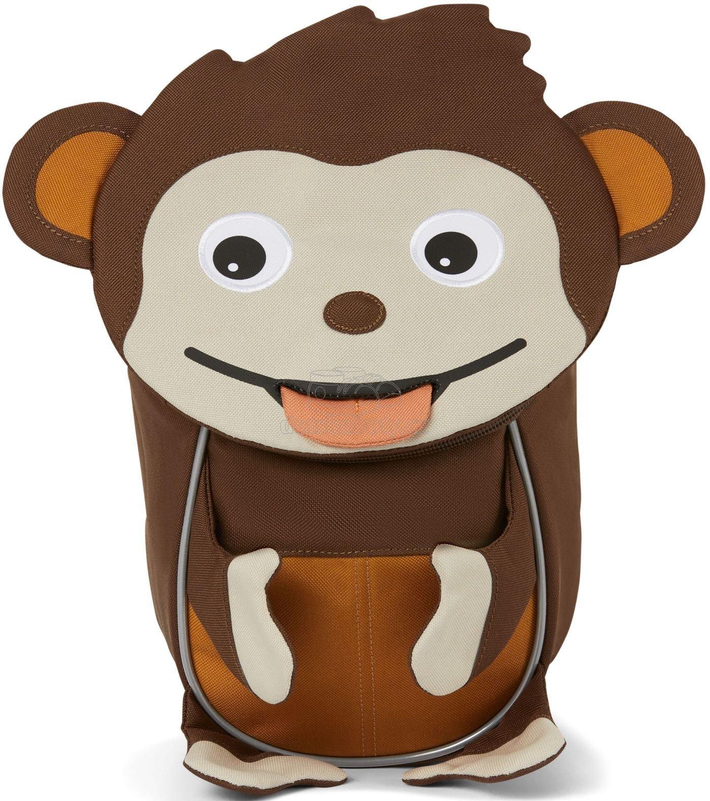 Hátizsák a legkisebbeknek Affenzahn Small Friend Monkey - brown