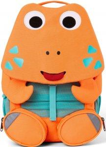 Gyerek táska iskolába Affenzahn Large Friend Crab - neon orange