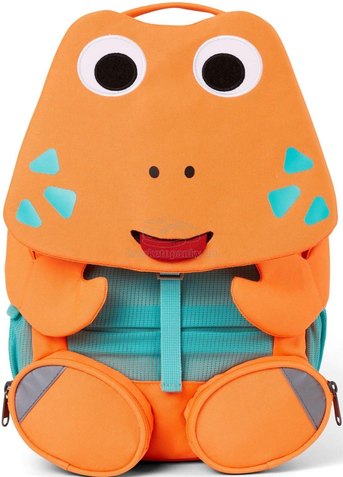 Detský batoh do škôlky Affenzahn Large Friend Crab - neon orange