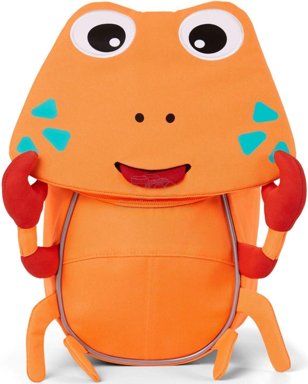 Batůžek pro nejmenší Affenzahn Small Friend Crab - neon orange