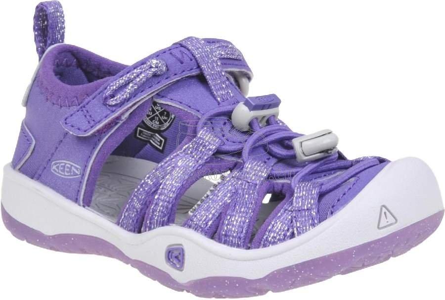 Detské sandále Keen MOXIE SANDAL royal purple/vapor