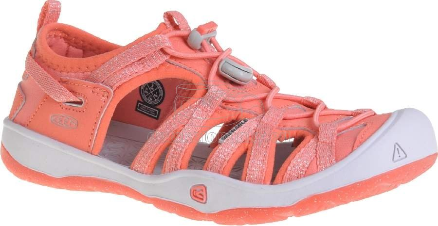 Detské sandále Keen MOXIE SANDAL coral/vapor