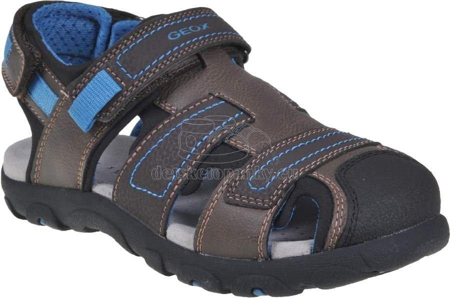 Detské letné topánky Geox J0224B 0MECE C6402