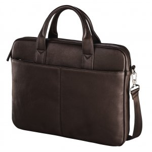 """Santorin Life"" Notebook Bag, up to 40 cm (15.6""), brown"