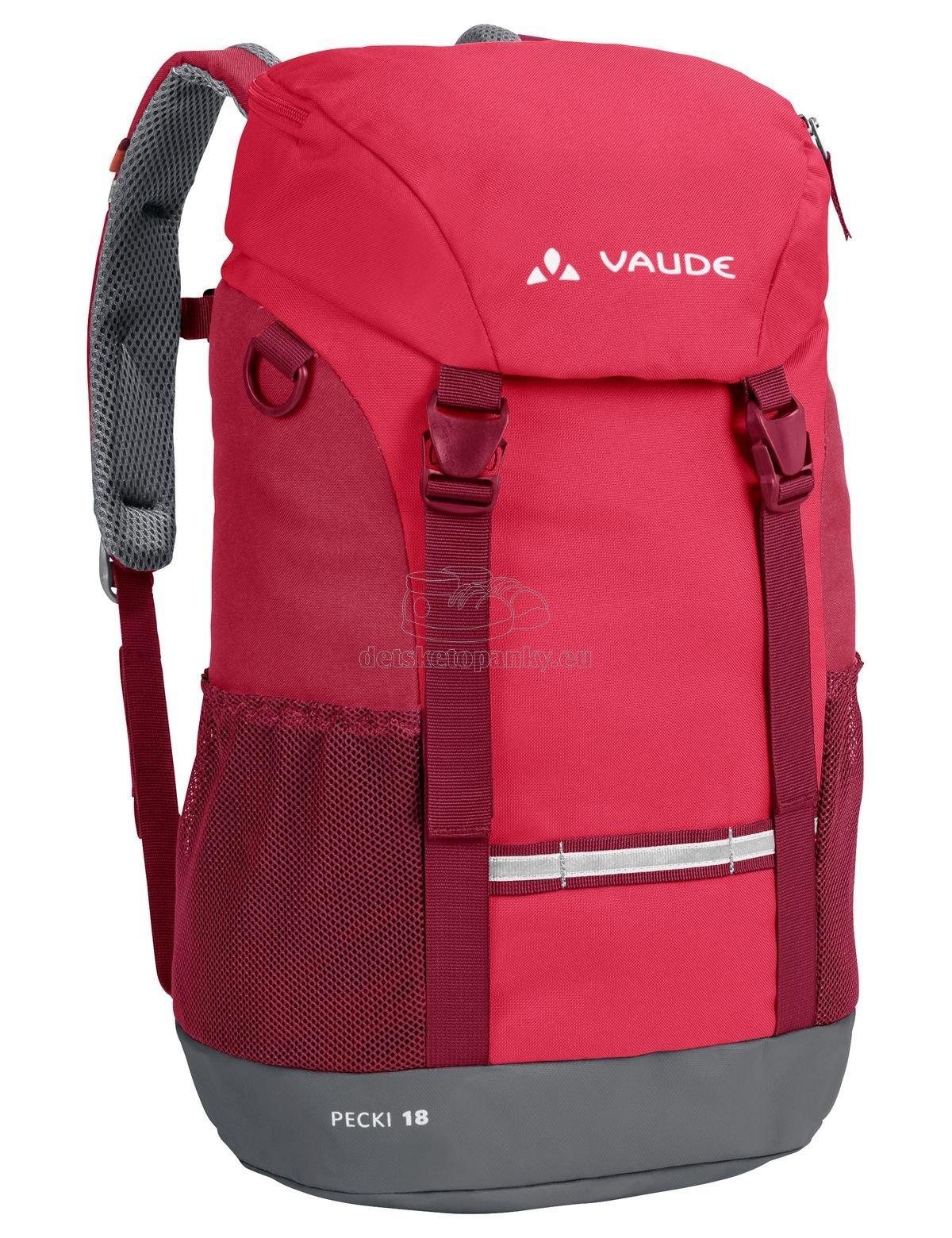 Vaude Pecki 18 bright pink