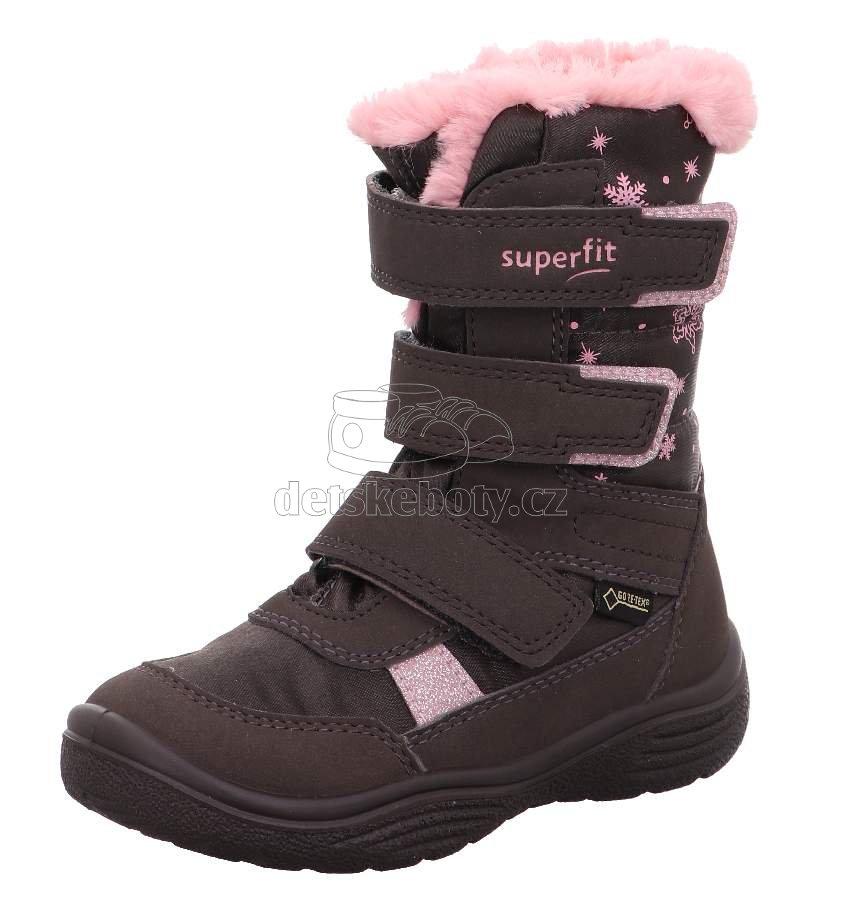 Téli gyerekcipő Superfit 1-009092-3000