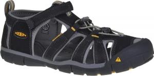 Detské sandále Keen SEACAMP II CNX  black/yellow